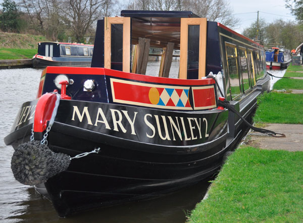 Mary Sunley2 all aboard